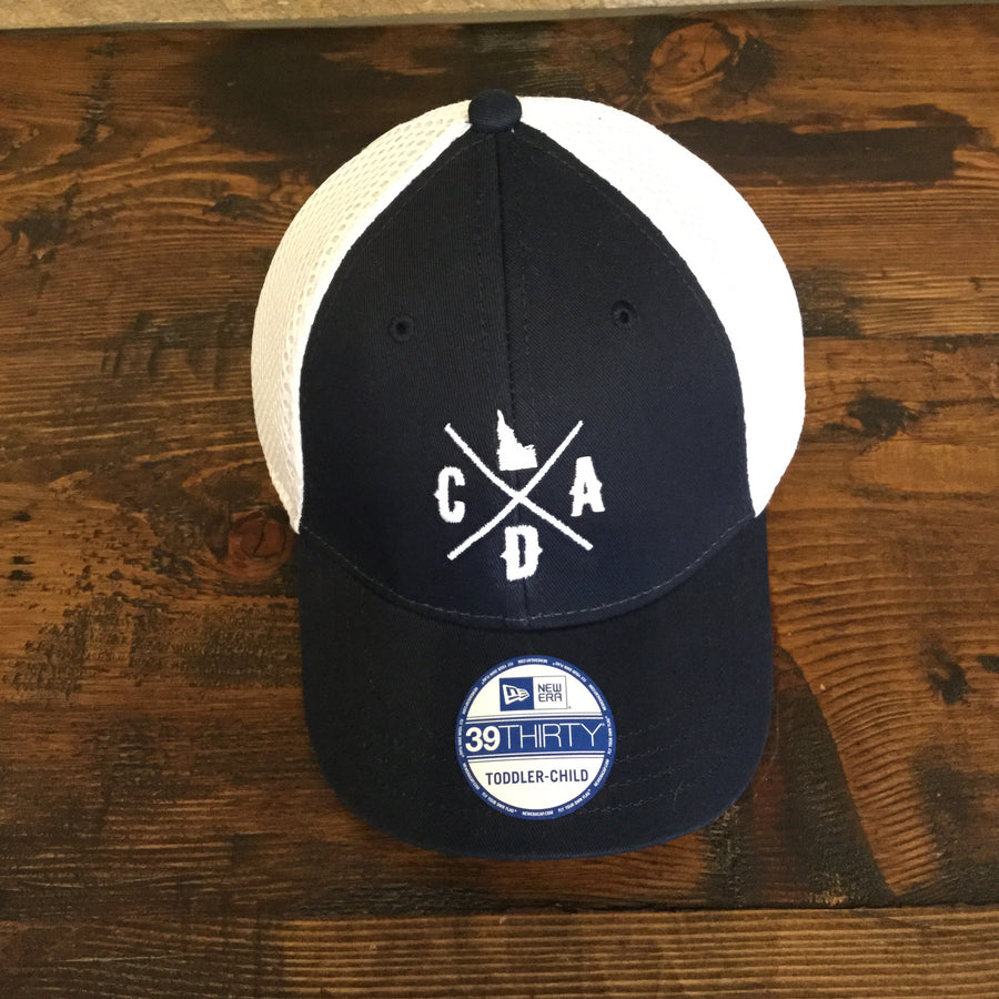 Toddler CDA IDAHO Blue & White Hat