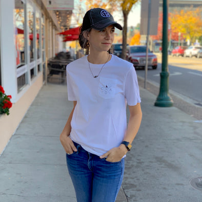 CDA Idaho Pocket Tee