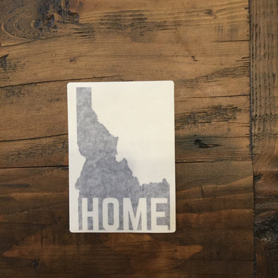 Idaho Home Black Decal