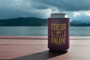 Coeur d'Alene Camping Coozie