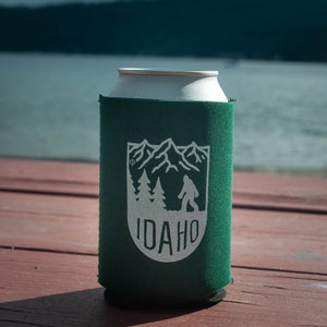 Bigfoot Idaho Mountains Coozie