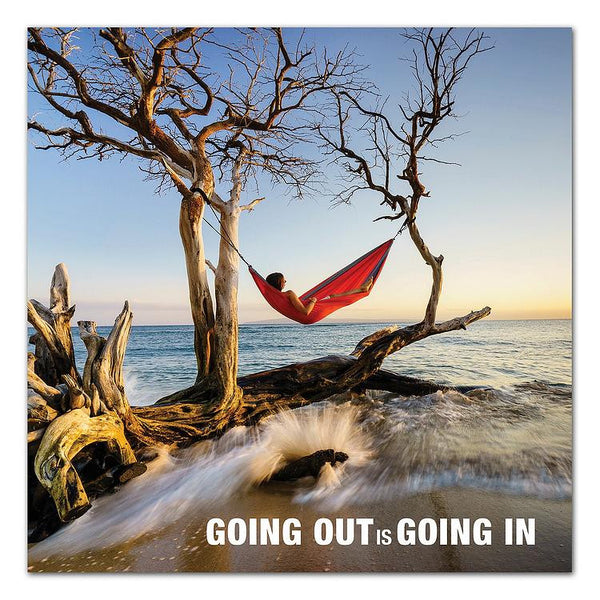 """Going Out is Going In"" Coffee Table Book"