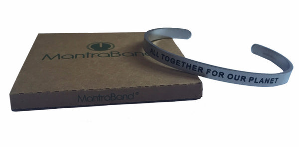MantraBand's Limited Edition 1% for the Planet Vision Bracelet