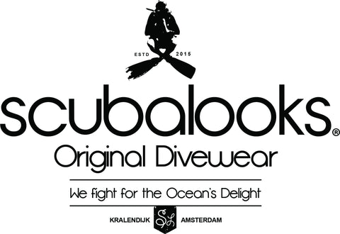 scubalooks logo - scuba clothing co.