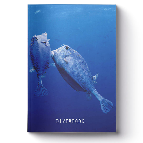 Scuba Log Book - Cowfish