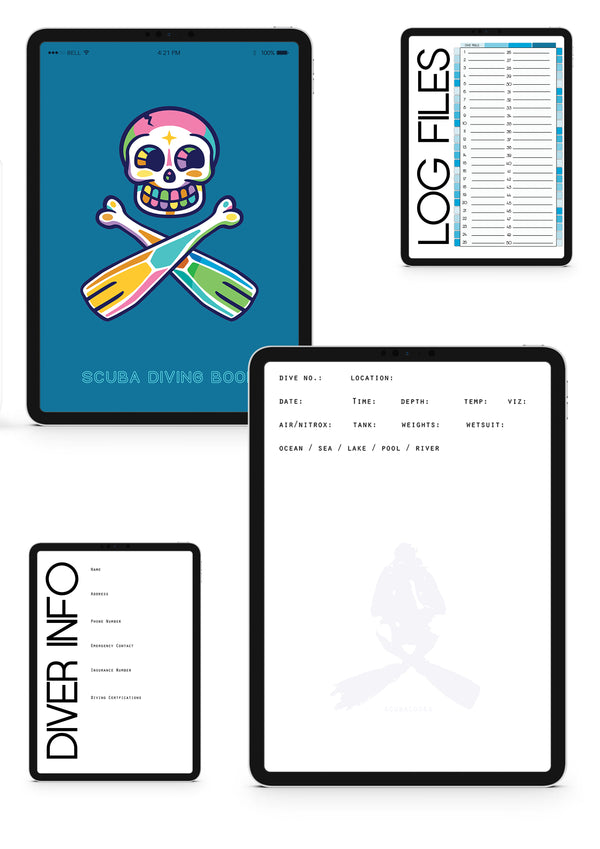 digital scuba log book templates - duik log book app