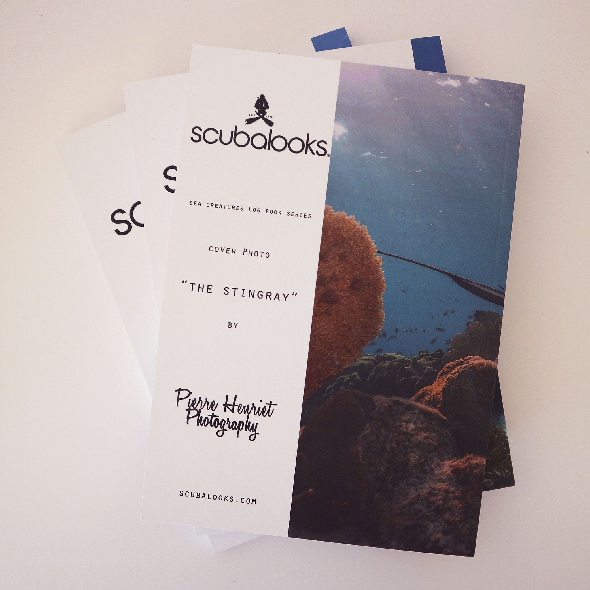 Scuba Logbook Dive book