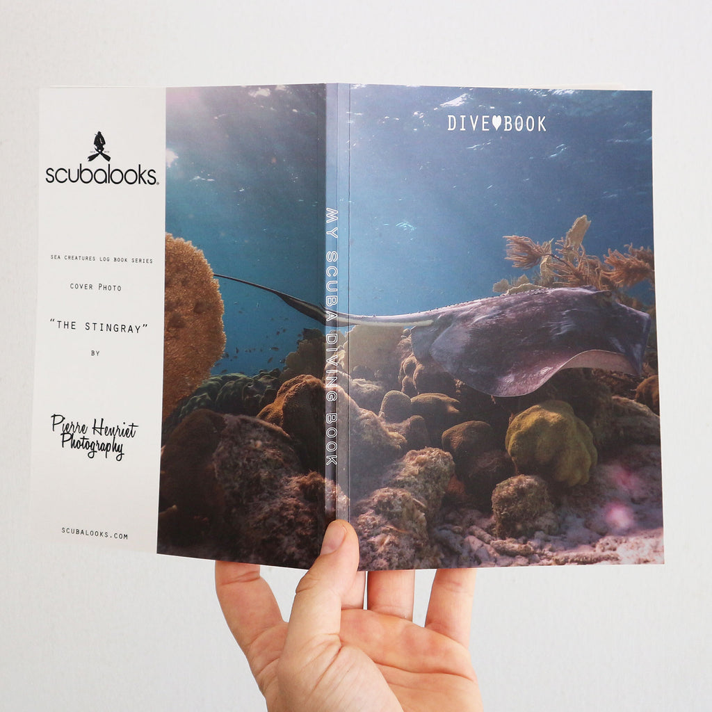 Scuba Log Book - Stingray