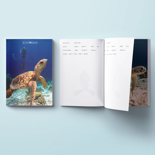 Scuba Log Book - Turtle