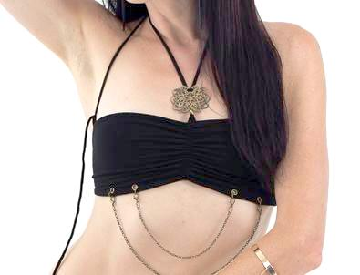 Gypsy Diamond Mini Chain Bra