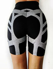 Cyborika Half Length biker cycling shorts