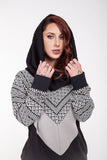 Cozy pull over unisex sweater
