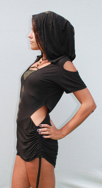 Gypsy Pyramid Hoodie Top/dress