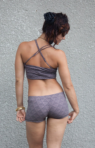 Pyramid Square Bra