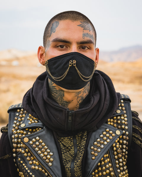 Ninja chain Face Mask