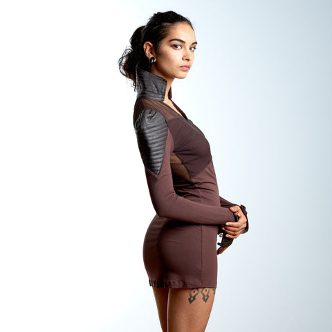 Brown Ninja Dress