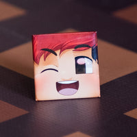 OMGchad Square Face Button