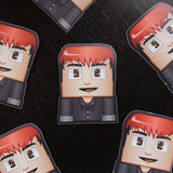 OMGchad Die Cut Sticker