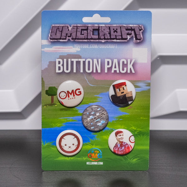 OMGcraft/OMGchad Button Pack