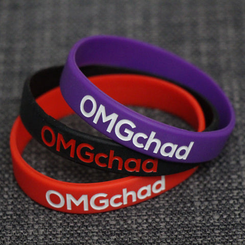 OMGchad Silicone Wristbands