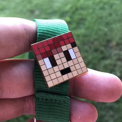 OMGchad Minecraft Pin