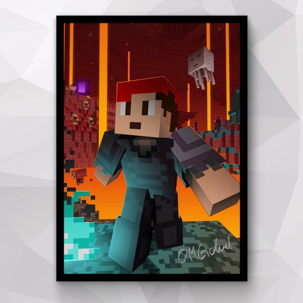 Nether Update Poster
