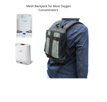 Mesh Backpack for Most Oxygen Concentrators