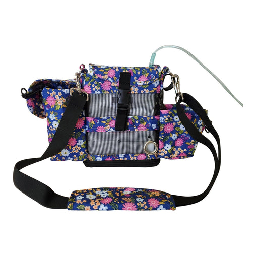 Inogen One G4 Carry bag in floral - O2TOTES