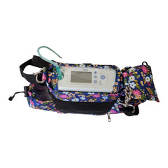 Oxygo Fit Carry bag in floral - O2TOTES
