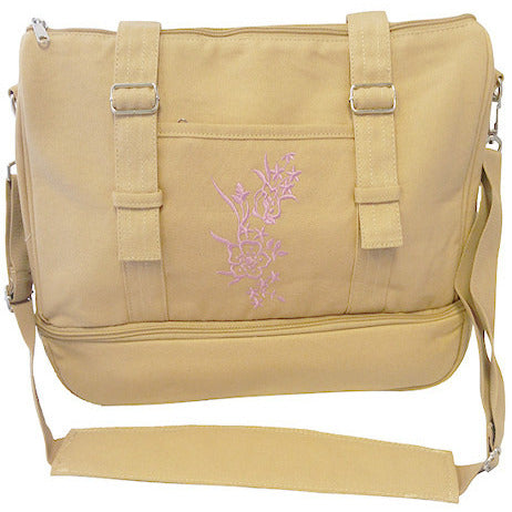 Oxygen Tank Crossbody Bag in Tan (for M4, M6 & C tanks) - O2TOTES