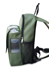 Inogen one G5 Backpack-With Storage Compartment in Green