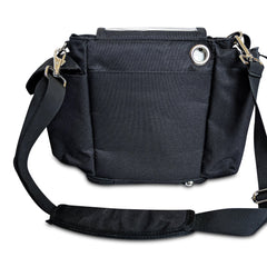 Oxygo Carry & Crossbody Bag in Black - O2TOTES