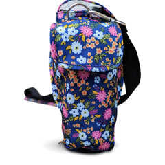 OxyGo Carry & Crossbody Bag in Flower Print - O2TOTES