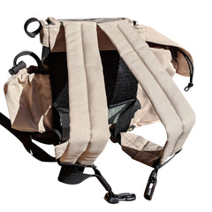 Inogen one g4 backpack in light tan - O2TOTES