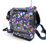 Inogen one G5 Backpack-Lightweight Design with Zippered pockets in Floral Canvas