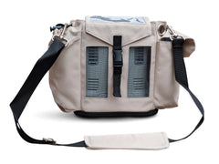 Inogen One G3 Carry & Crossbody Bag in Beige (also fits Oxygo Unit) - O2TOTES