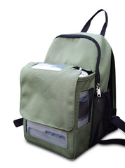Oxygo Next Backpack-With Storage Compartment in Green - O2TOTES