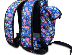 Inogen one G5 Backpack-Lightweight Design with Zippered pockets in Floral Canvas - O2TOTES