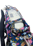 Inogen One G3 Carry & Crossbody Bag in Vera Print (also fits Oxygo unit) - O2TOTES