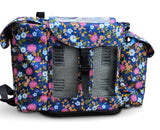Inogen One G3 Backpack in Flower Print (also fits Oxygo unit)
