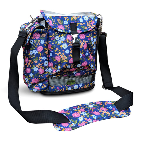 SImplyGo Mini Carry Bag in Flower Print - O2TOTES