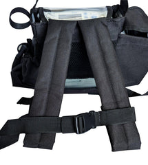 Inogen One G4 Backpack in Black (also fits Oxygo Fit unit) - O2TOTES