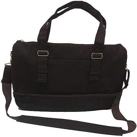 Crossbody purse in Vibrant Black - O2TOTES