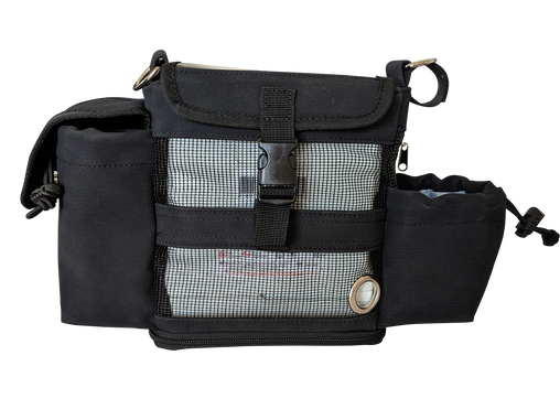Oxygo Fit Hip Bag in Black - O2TOTES