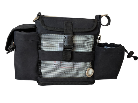 Hip Bag for Inogen one G4/For both standard & double battery - O2TOTES