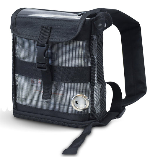 Inogen one G4-Ultra Lightweight Backpack in black - O2TOTES