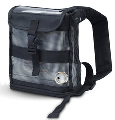 Oxygo Fit Ultra Lightweight Backpack in black - O2TOTES