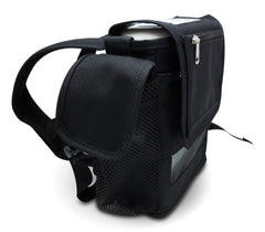 Oxygo Next- Lightweight Design with Zippered pockets in Black Canvas - O2TOTES