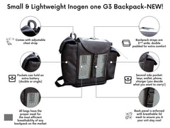 Oxygo Backpack in Black - O2TOTES
