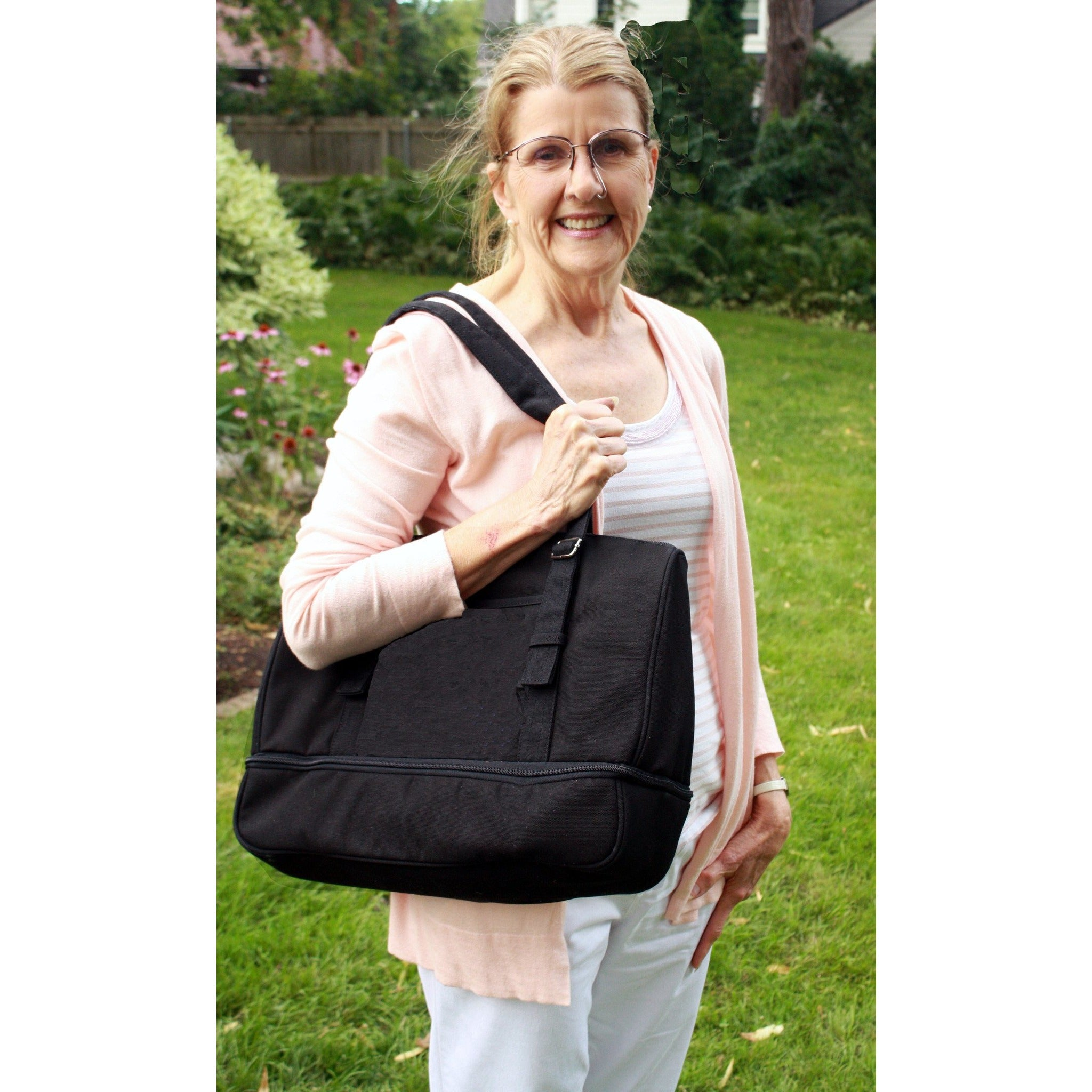 Oxygen Tank Bag with Crossbody & Shoulder Strap - O2TOTES